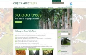 Green Mile Trees new website