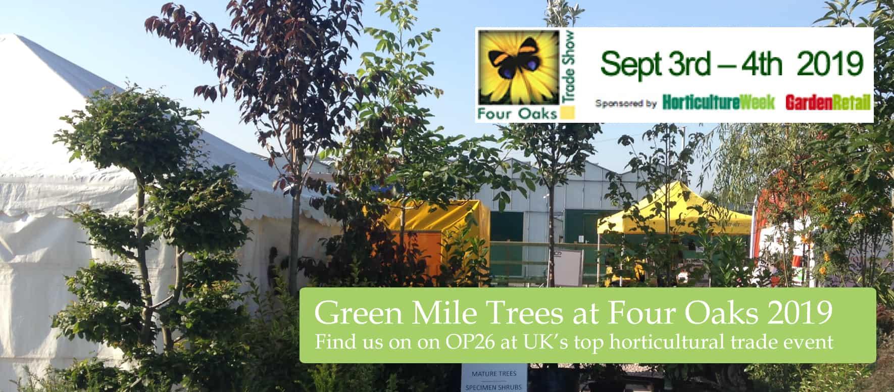 Green Mile Trees Four Oaks 2019